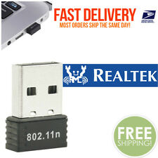 RealTEK Mini USB 300Mbps Wireless 802.11B/G/N LAN Card WiFi Adapter Nano Wlan