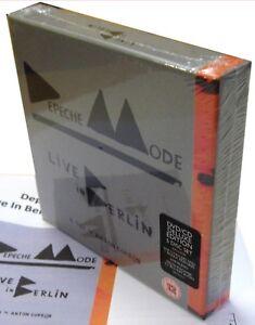 DEPECHE-MODE-5-Disc-BOX-Set-CD-x-2-Live-In-Berlin-DVD-x-2-Blu-Ray-Boxed-DELUXE