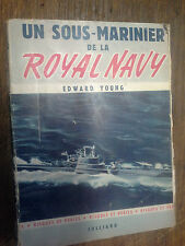 Un sous marinier de la Royal Navy Edward Young