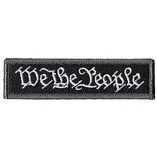 WE THE PEOPLE TACTICAL PATCHES USA ARMY ISAF MORALE BADGE SWAT PATCH