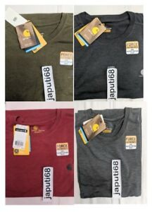 58ab5da9a7c7 Image is loading Carhartt-102960-Force-Extreme-Short-Sleeve-Performance-T-