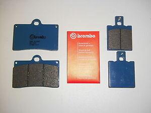 Brembo-Bremsbelaege-Bremskloetze-Bremse-vorne-hinten-Yamaha-TZR-125-4DL-Belgarda