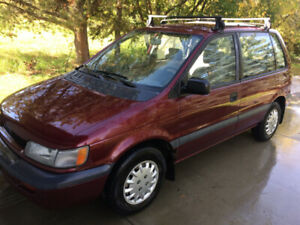 1994 Eagle Summit Wagon AWD    (and matching parts car)