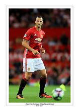 ZLATAN IBRAHIMOVIC Manchester United stampa foto Man Utd a4 regalo per lui 2