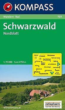 Schwarzwald, Nordblatt: Wander- und Radtourenkarte. Mit ...   Buch   Zustand gut