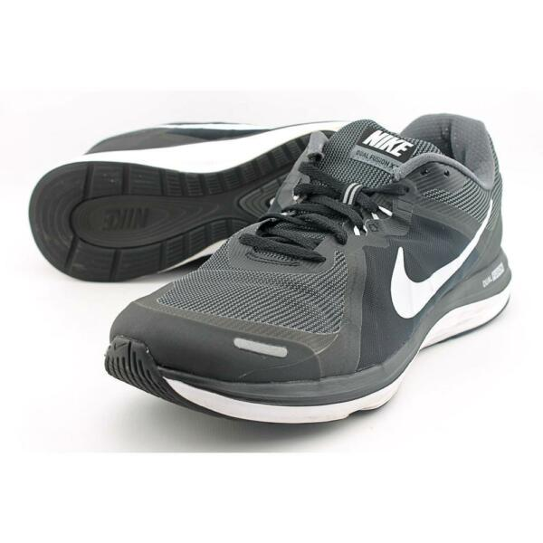 finest selection 84578 a7fca Nike Dual Fusion X2 Men US 11 Black Running Shoe Pre Owned 1010   eBay