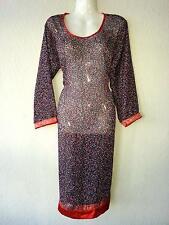 Bollywood Indien Tunika Kurta Salwar Kameez Kleid Bluse Strandkleid Beach Goa