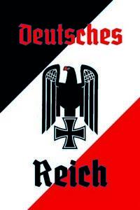Deutsches-Reich-Motiv-1-Blechschild-Schild-gewoelbt-Metal-Tin-Sign-20-x-30-cm