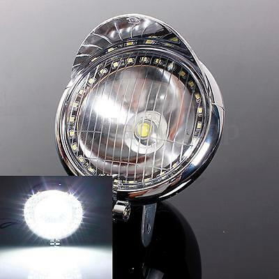 12V 27 LED UNIVERSAL MOTORCYCLE ANGEL EYE FOG HEADLIGHT LAMP FOR HARLEY CHOPPER