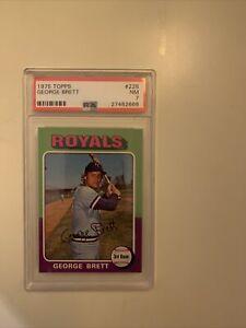 1975 Topps George Brett #228 PSA 7