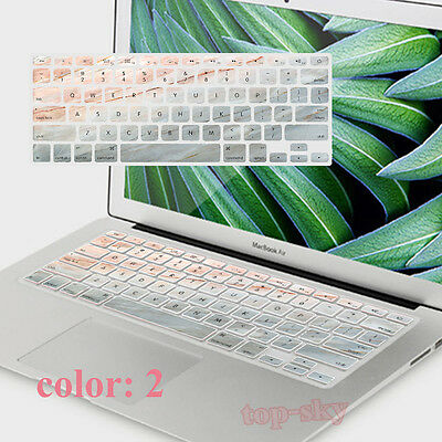Marble Painting Soft Silicon Decal Keyboard Keypad Cover for Macbook 11/13/15/17