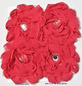 EK-Success-jolee-039-s-Boutique-3-d-Gema-Pegatinas-Flores-ROSA-GRANDE-floreados