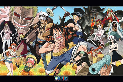 CHARACTER COLLAGE POSTER 24x36-52961 ONE PIECE