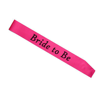 Hot Pink Night Out Hen Party Sashes For Wedding Party Accessories