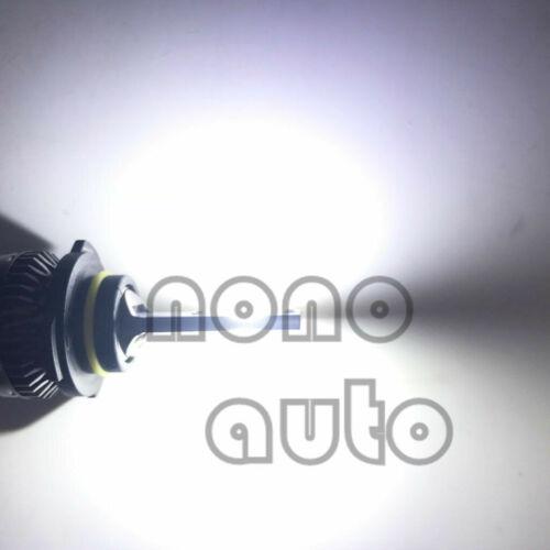9004 HB1 6000K White 8000LM CREE LED Headlight Bulbs Kit High Low Beam Headlamp