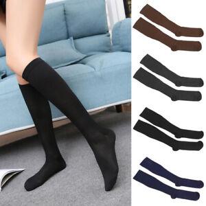 Men-Women-Compression-Varicose-Vein-Knee-High-Nylon-Stocking-Leg-Support-Socks
