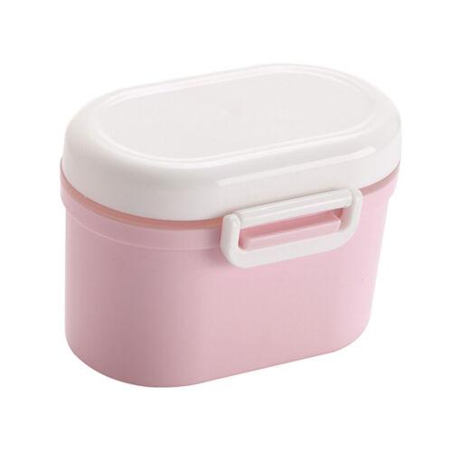 Milchpulver Portionierer Container Tragbare Flasche für Kids Baby Reise Rosa