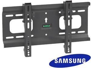 mini ultra slim tilt samsung tv wall mount 32 37 40 42 48 50 inch led lcd ebay. Black Bedroom Furniture Sets. Home Design Ideas