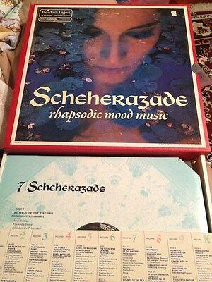 Vintage Vinyl Records-Scheherazade Rhapsodic Mood Music Album Set- 10 Album Set
