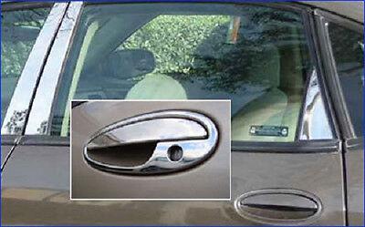 Chrome Door Handle Cover Trim for Chevrolet Impala 2000-2005 & Malibu 2000-2003