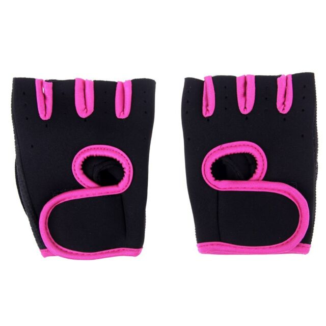 Choose Size Men Women Weight Lifting Gloves Fitness Gym Exercise Training Hot