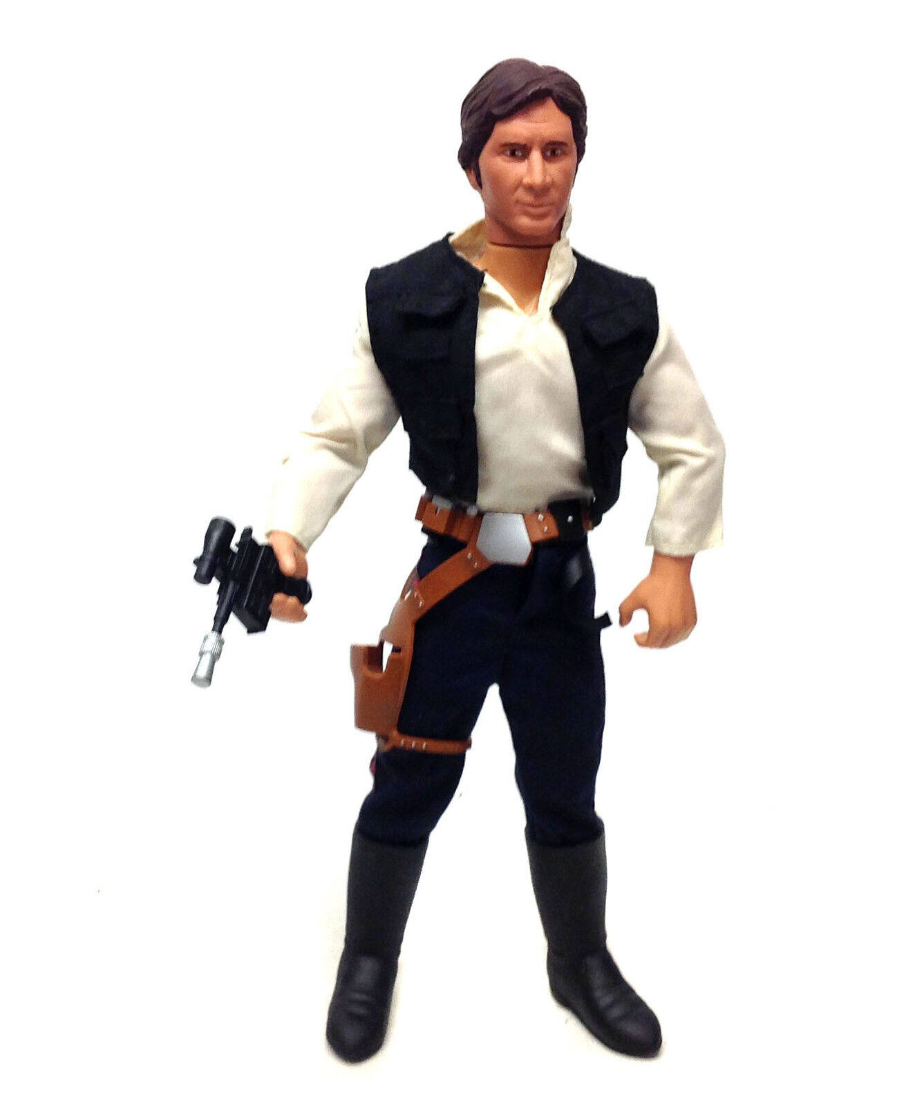 STAR WARS 12  1 6th scale HAN SOLO action figure nice condition