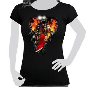 3d De Óptica Algodón Estampado Camiseta Mujer qg4wTxHInC