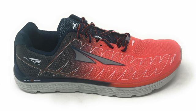outlet store 2ea2c ac7a9 Mens Altra One V3 Zero Drop Running Shoes Trainers Orange 9