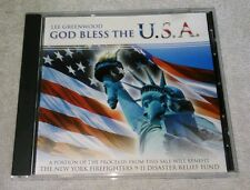 God Bless The USA by Lee Greenwood CD  Madacy 2001 Dixie Road Going Going Gone