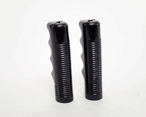 BIKE BICYCLE VINTAGE PISTOL STYLE HANDLEBAR GRIPS BLACK