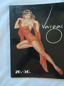 Vargas 20-50's Book Softcover 1990