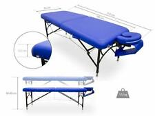 Folding Chiropractic and Reiki Massage Table 163 x 54 cm Black