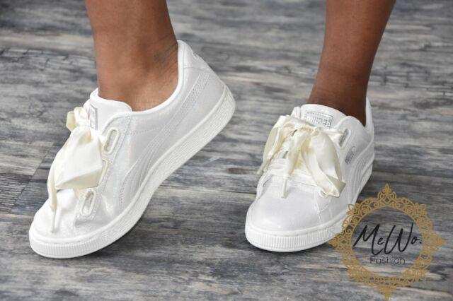 PUMA Basket Heart Damen Sneaker weiß 99