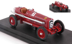 Alfa Romeo P3 #6 Winner (debut Alfa) Gp Montreaux 1934 C.f.trossi 1:43 Model Rio