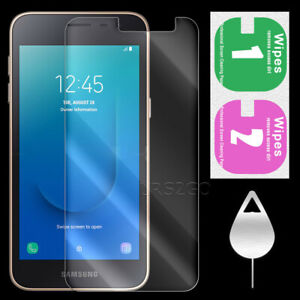 High Responsivity 9H Hardness Anti-Scratch Tempered Glass Screen Protector for Samsung Galaxy J2 Pure SM-J260A Cricket
