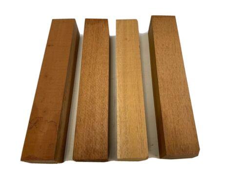"1 pc Beautiful  Mahogany Lumber Square Turning Blanks Wood 2/"" x 2/"" x 12/"""