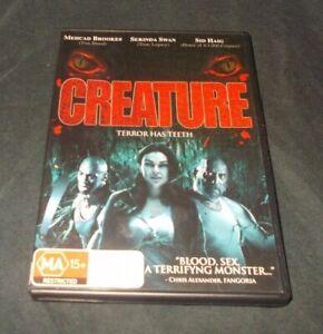 Creature-DVD-VGC-Region-4-2011-Sid-Haig