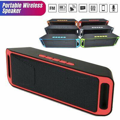 Waterproof Portable Bluetooth Stereo Speaker Outdoor Wireless Shower Loud MP3 US
