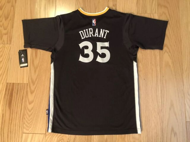 wholesale dealer 19833 3d44a Kevin Durant Golden State Warriors adidas Swingman Slate Jersey Youth XL