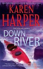 Down River, Karen Harper, Good Condition, Book