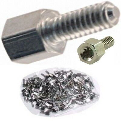 Lot100 DB Stud//Bolt//Nut Serial//9//25//Parallel//VGA//SVGA for Cable//Cord//Wire//Port