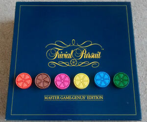 Trivial Pursuit Replacement Pie Wedge Movers and Cheese Piece