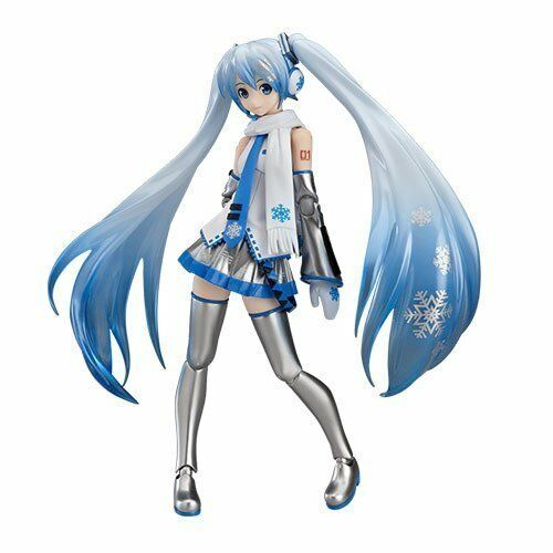 Figma EX-016 VOCALOID Snow Miku Figure Max Factory NEW From japan