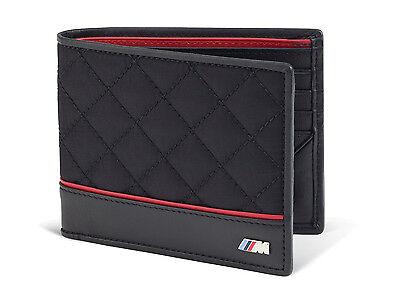 BMW Genuine Logo Men/'s M Performance Wallet Black 80212336954
