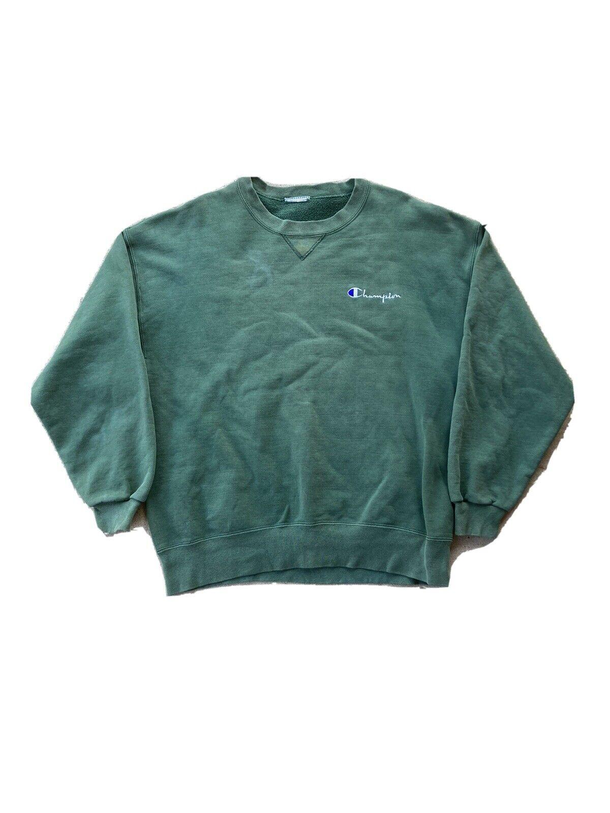 Vintage 90s Champion Sweatshirt Size Large - image 1