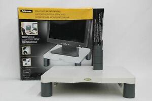 FELLOWES-Regolabile-Monitor-standard-alzata-per-21-034-CRC91712-schermo-del-computer