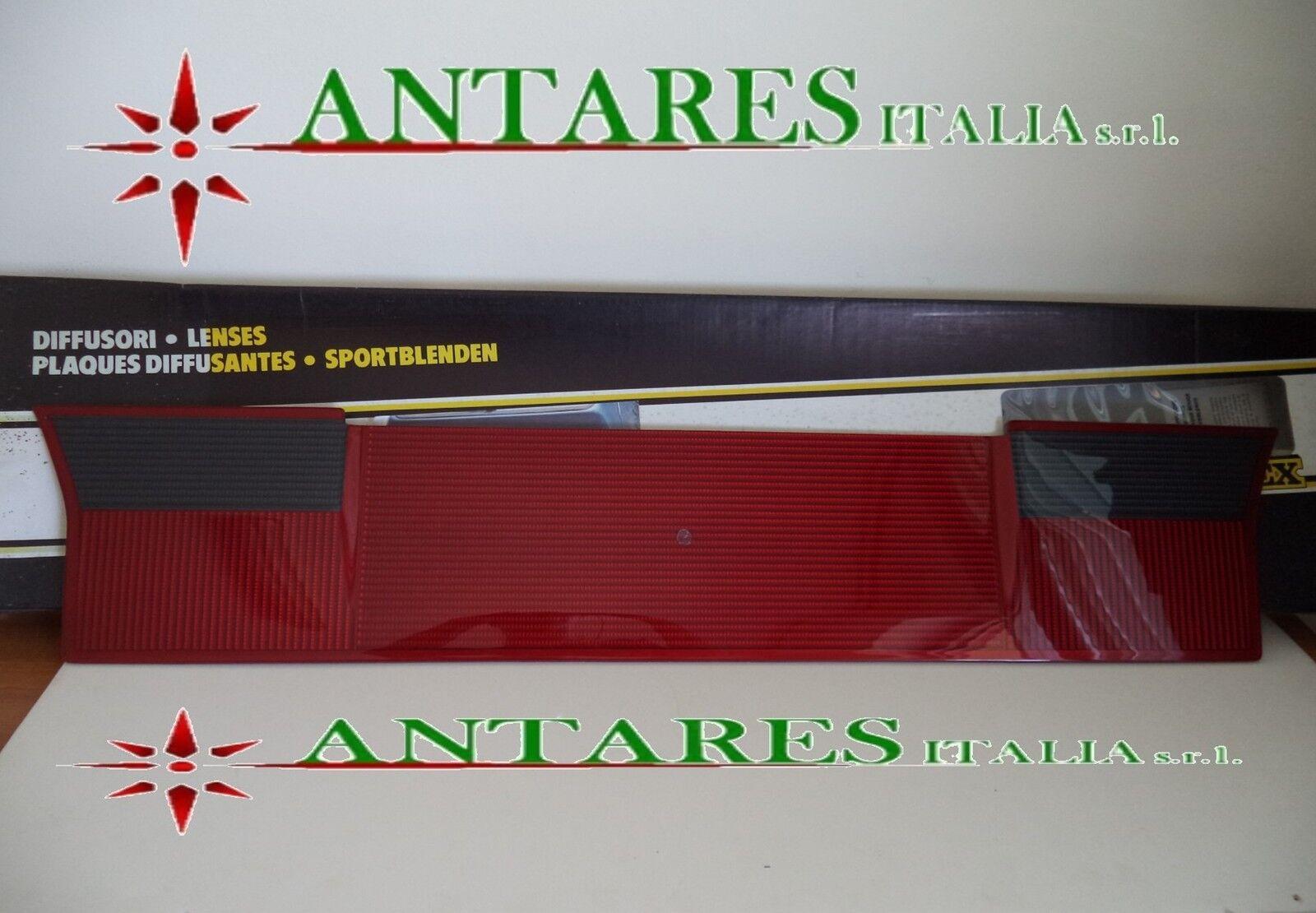 REFLEKTOR LAUTSPRECHER HINTERN FIAT UNO VON 1989  ROT+SCHWARZ SACEX SACEX SACEX 36.05.000 42f960