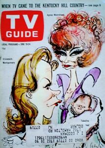 TV-Guide-1966-Bewitched-Elizabeth-Montgomery-Moorehead-Tabatha-Searle-VG-EX-COA