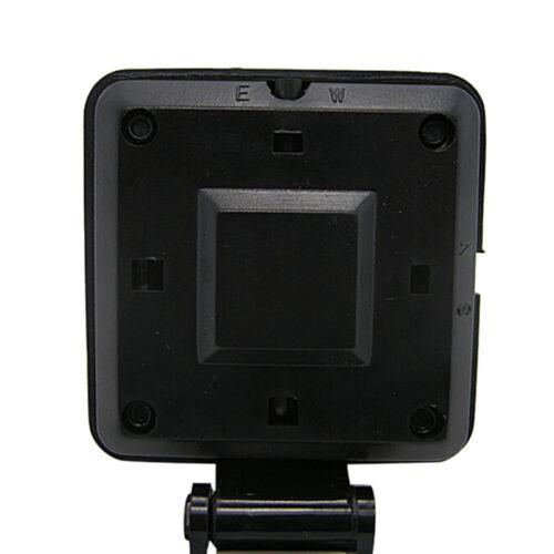 Black Auto Car Electronic Compass Navigation Dashboard Mount Marine Boat Ship