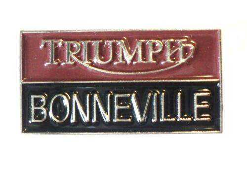 Triumph Bonneville Classic 1960's British Rocker Motorbike Motorcycle Bike Badge